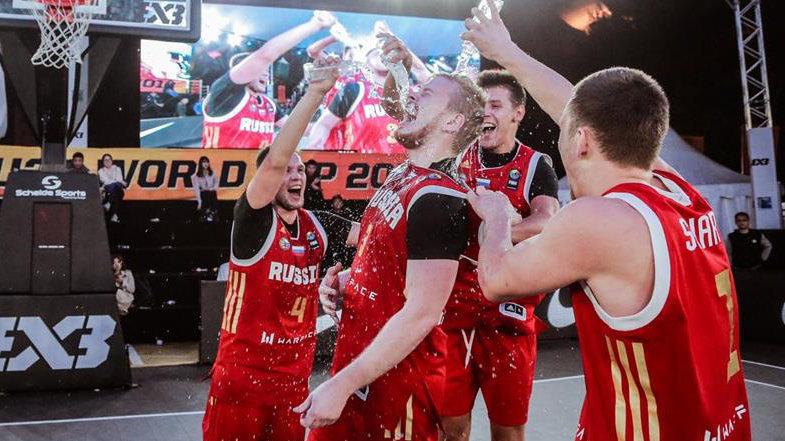 Сборная России 3x3 получила награду от ОКР и комитета fair play