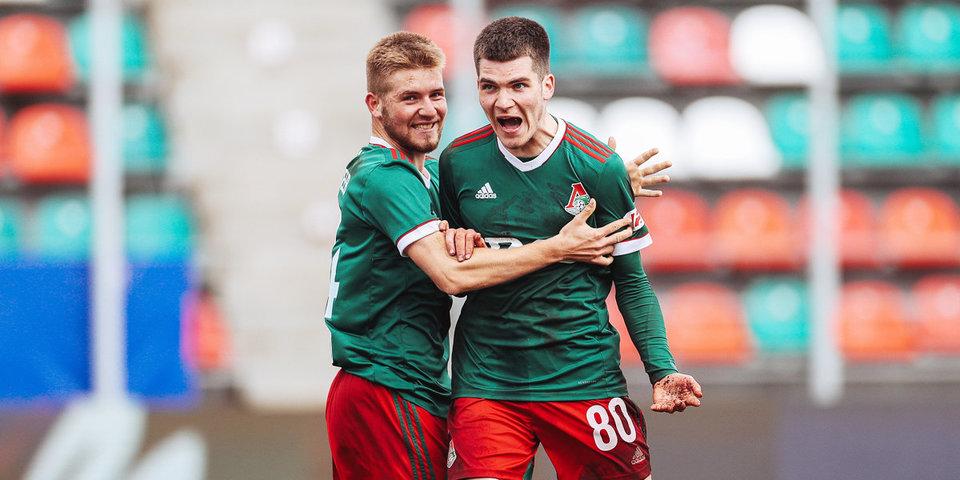 «Локомотив» и «Краснодар» сыграли вничью в матче молодежного первенства