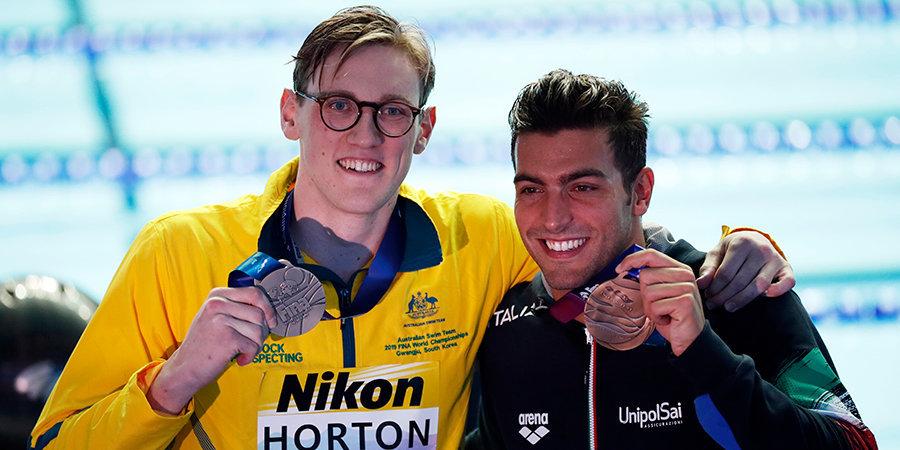 Спортсмены устроили овации австралийскому пловцу после скандала на церемонии награждения ЧМ