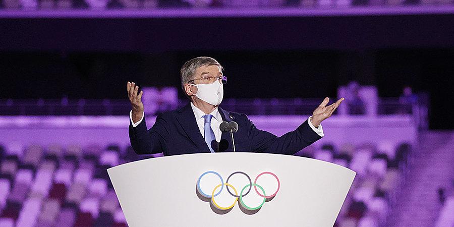 «Эти аргументы ничем не подтверждены». Бах — о влиянии Олимпиады на рост числа заболевших коронавирусом в Японии