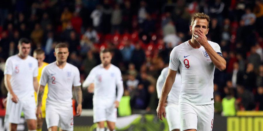 Англия и Испания не торопятся на Евро. Обе сборные потеряли очки и выглядели неубедительно