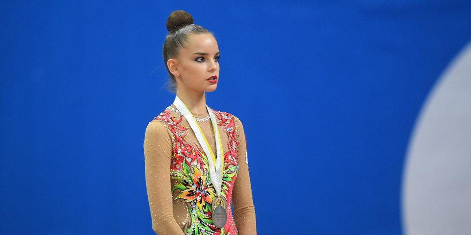 Аверина победила в многоборье на этапе Гран-при в Москве, ее сестра-близнец взяла серебро
