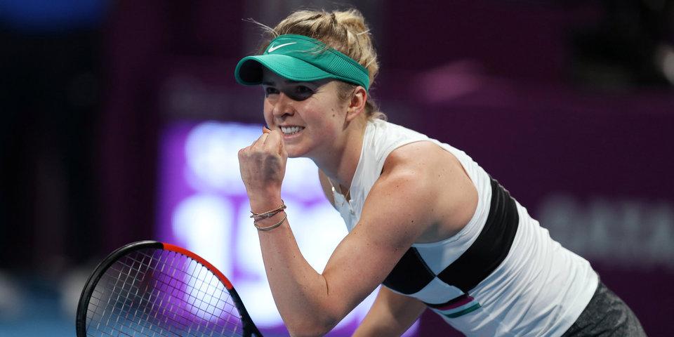Свитолина поднялась на 6-е место в рейтинге WTA, Касаткина — 22-я