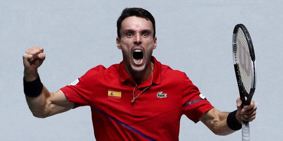 Баутиста-Агут вывел Испанию вперед в финале ATP Cup