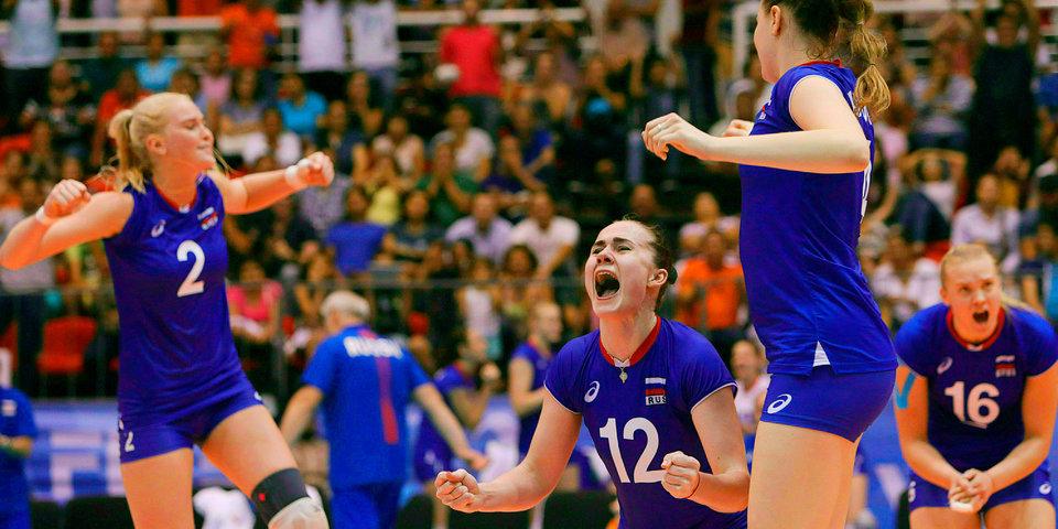 Российские волейболистки выиграли серебро молодежного чемпионата мира