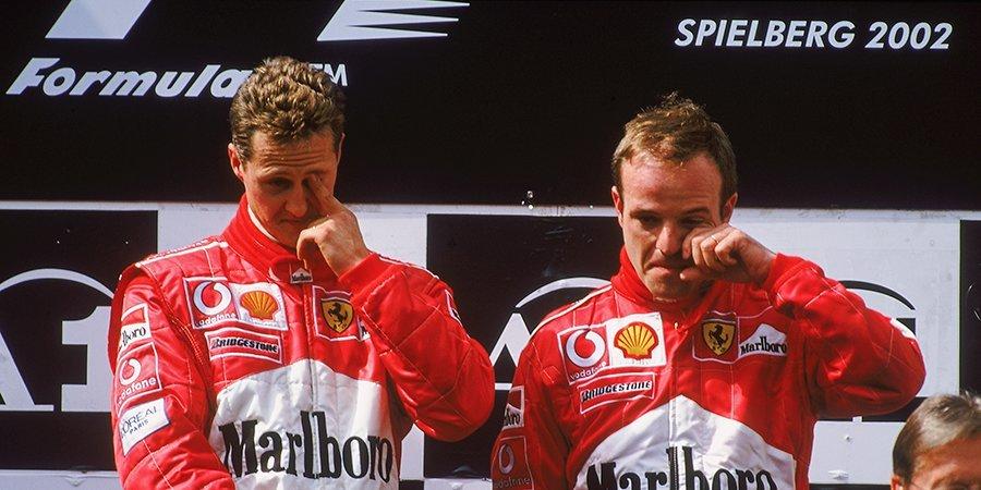 Заплаканный Баррикелло и освистанный Хэмилтон. Самые яркие эпизоды Гран-при Австрии