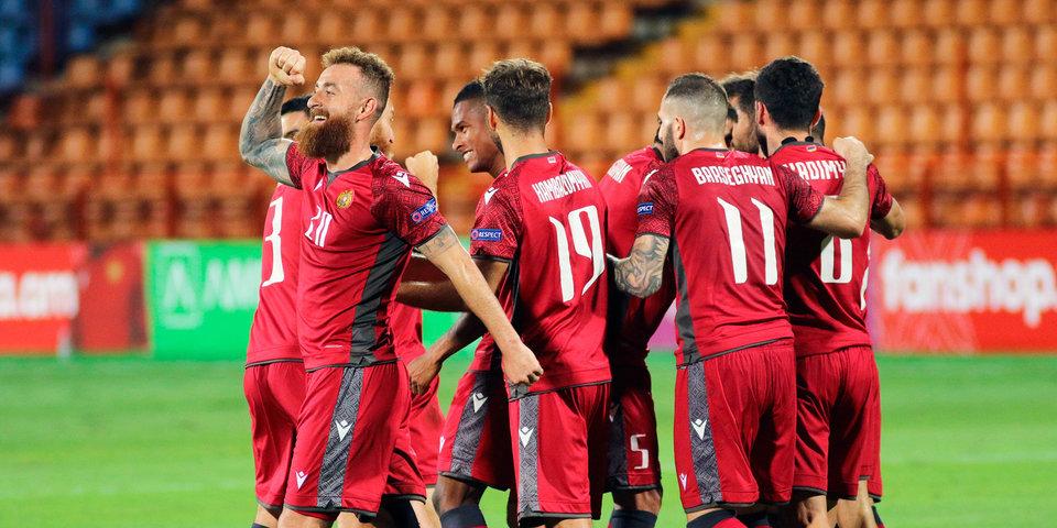 Армения обыграла Румынию и возглавила группу J в отборе на ЧМ-2022