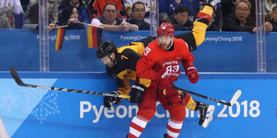Немецкие хоккеисты попробуют взять реванш у россиян на льду арены в Сочи