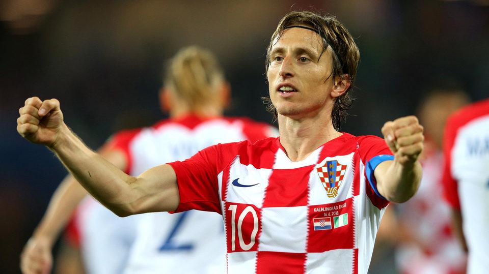 Лука Модрич: «Мы хотели, чтобы Месси вообще оставался без мяча»
