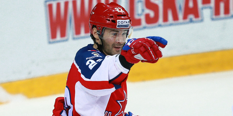 Попов стал 12-м игроком, преодолевшим отметку в 1000 матчей в чемпионатах России