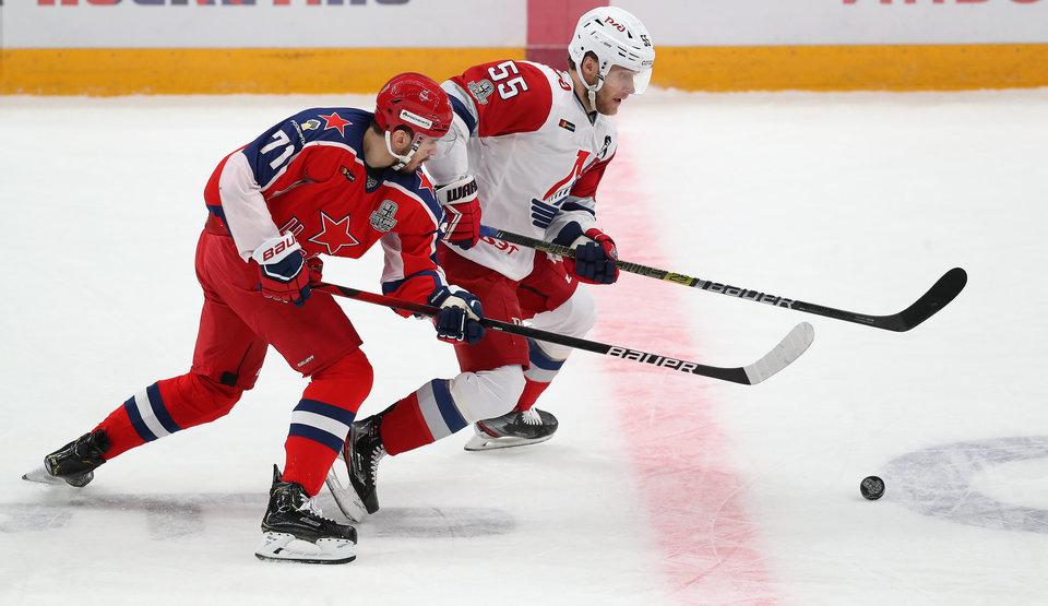 В КХЛ назвали лучших игроков второго раунда Кубка Гагарина