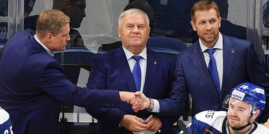«Мне же Крикунов свой номер передал!» Что сказал Олег Знарок после поражения в московском дерби