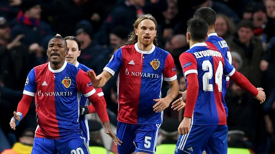 «Базель» забил четыре гола в ворота «Цюриха»