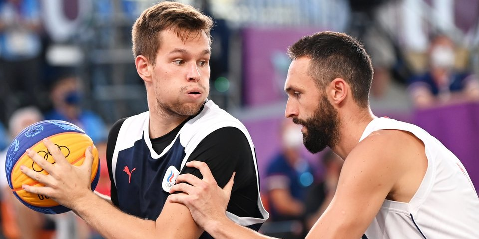 Российские баскетболисты стали первыми финалистами Олимпиады в формате 3х3