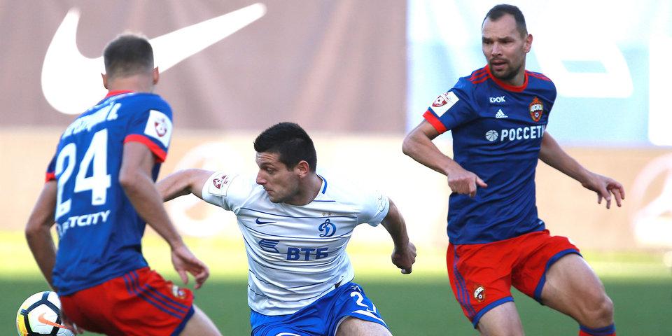 ЦСКА не сумел победить «Динамо» в дерби