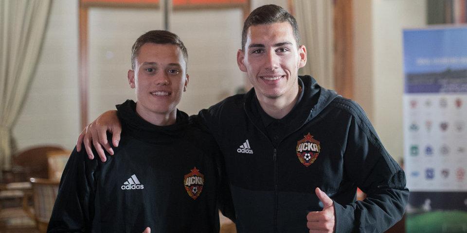 Тикнизян и Жиронкин вернулись в расположение основы ЦСКА