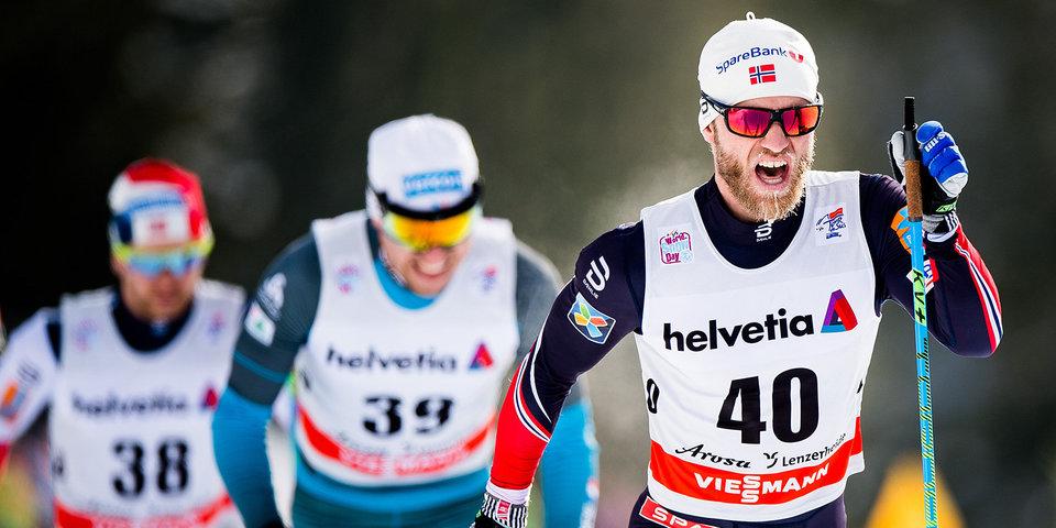 Российские лыжники отправились на Олимпиаду в Корею