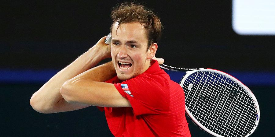 Медведев проиграл Лайовичу в первом круге турнира в Роттердаме