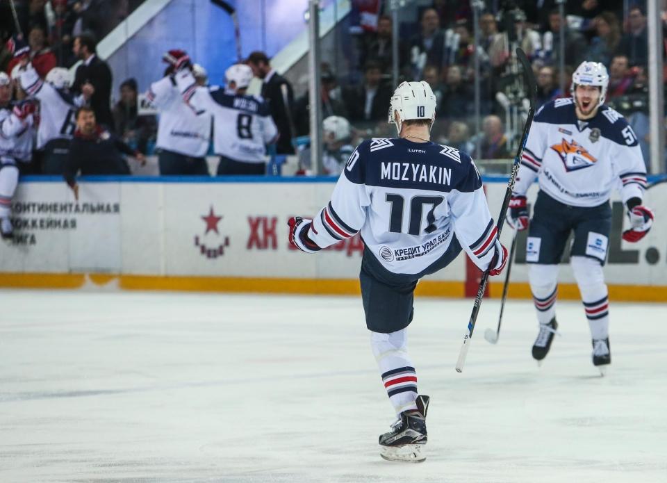 Мозякин набрал 1000-е очко в чемпионатах России