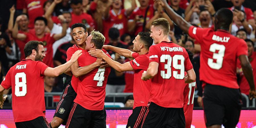 17-летний футболист помог «МЮ» победить «Интер» в Сингапуре. Видео