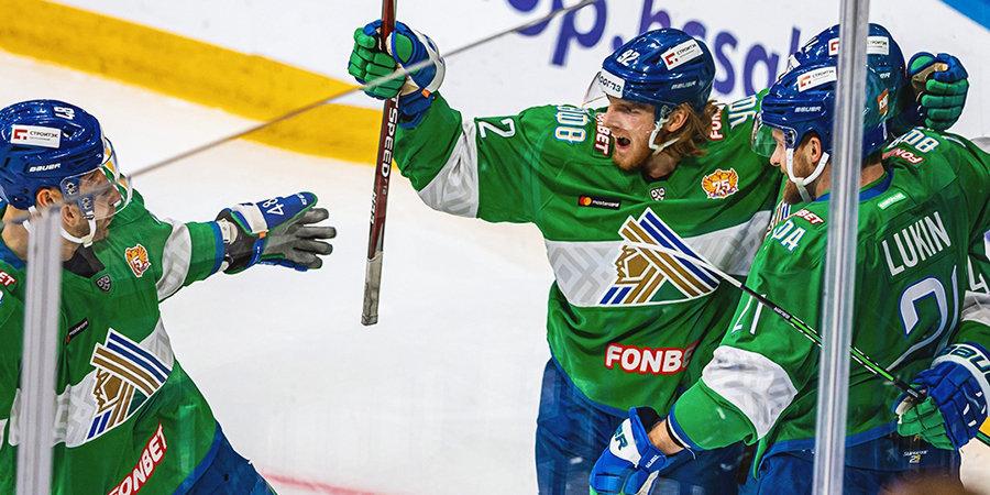 «Салават Юлаев» впервые за 6 лет обыграл дома «Йокерит»
