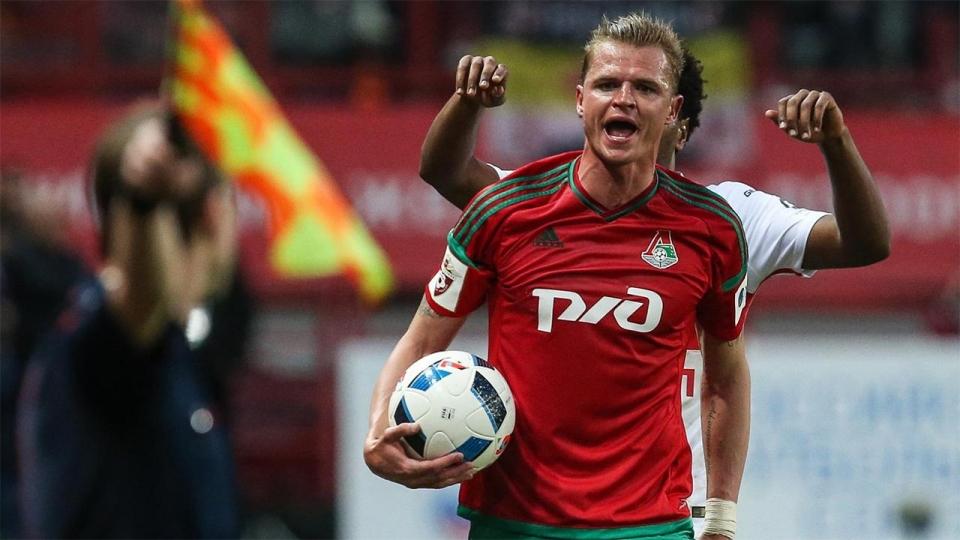 Тарасов вернулся в общую группу «Локомотива»
