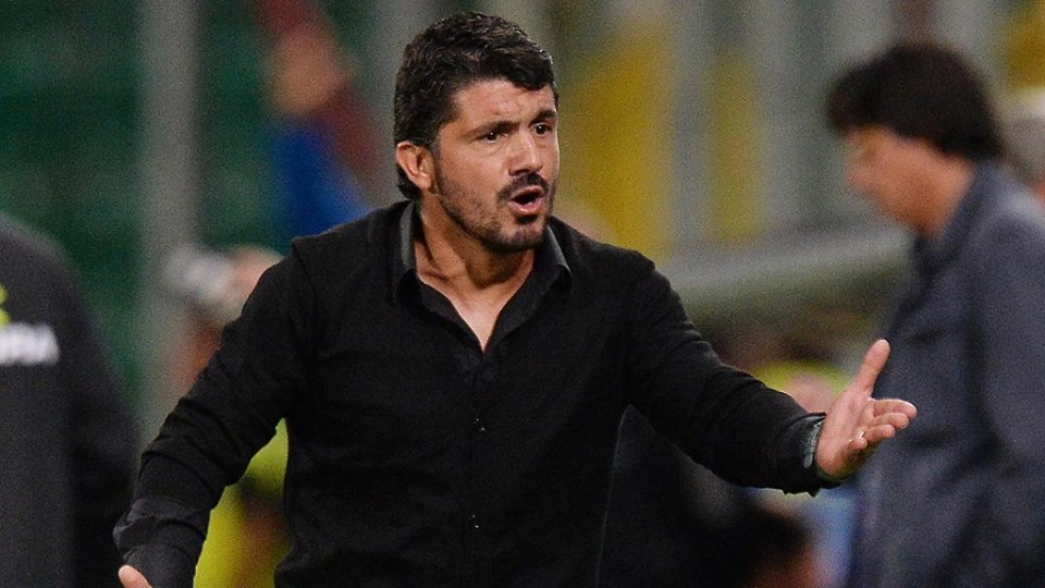 В «Милане» опровергли информацию о смене Гаттузо на Конте