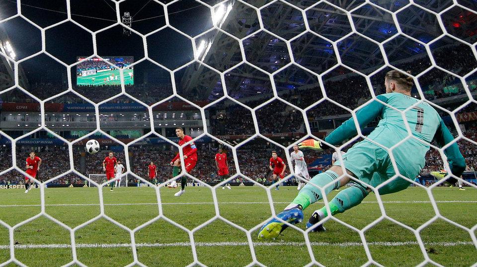 Давид Де Хеа: «Удар Роналду был не так прост, как кажется»