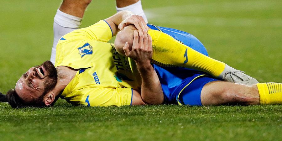 Вилюш получил разрыв крестообразных связок в матче со «Спартаком»
