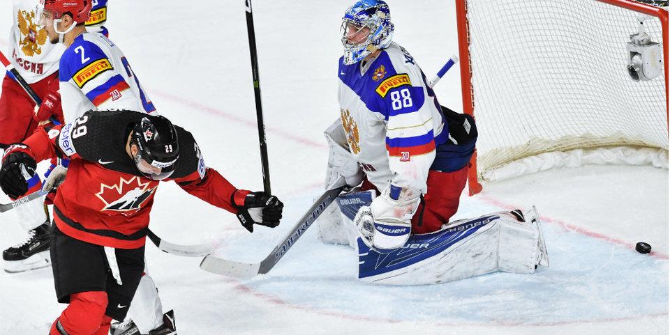 Россия проигрывает Канаде: голы и лучшие моменты