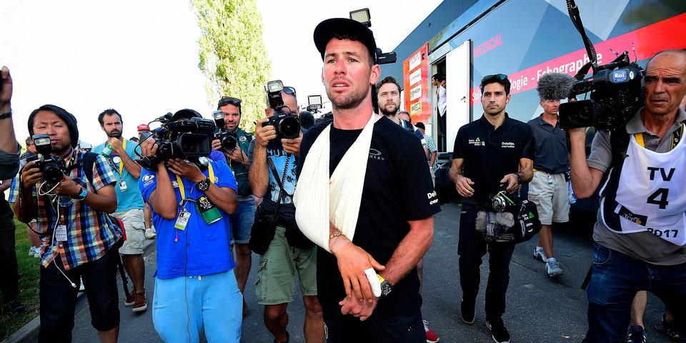 Кавендиш вынужден сняться с «Тур де Франс» из-за перелома