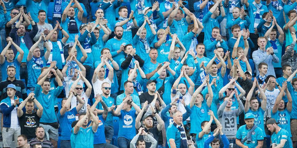 Матч «Зенит» – «Ахмат» посетили более 45 тысяч зрителей