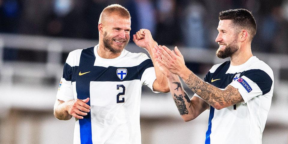 Сборная Финляндии объявила итоговую заявку на Евро-2020