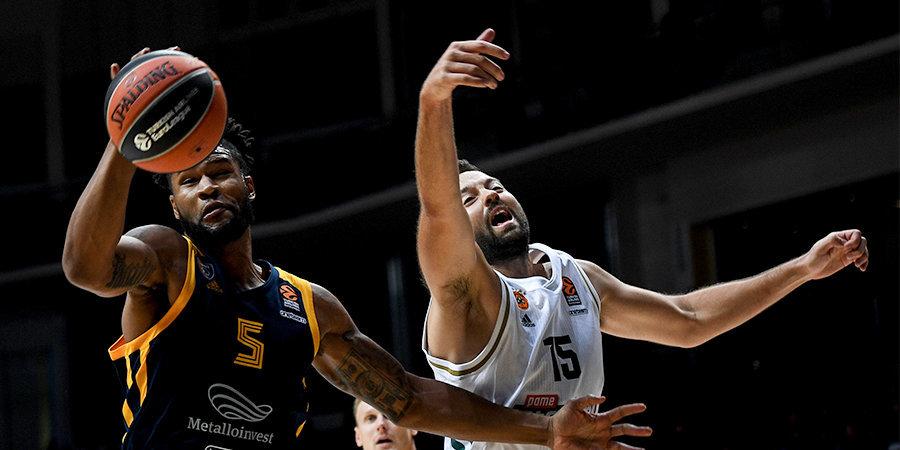 «Химки» дома переиграли «Панатинаикос», Швед набрал 26 очков