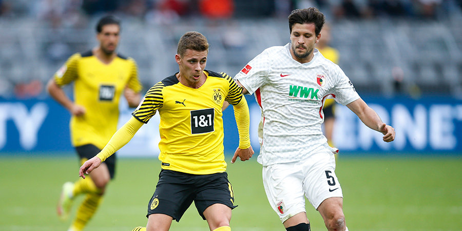 Дортмундская «Боруссия» обыграла «Аугсбург», «Фрайбург» победил «Герту»
