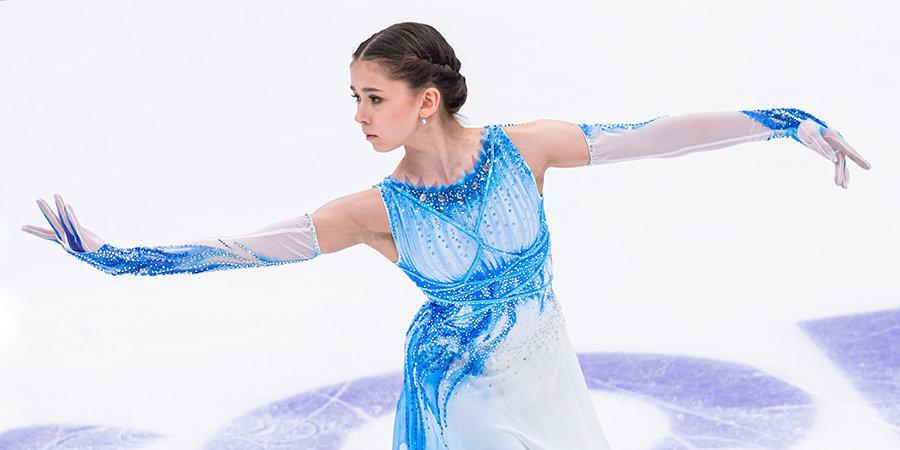 Тройной аксель и неофициальный мировой рекорд. Камила Валиева стала героем этапа Кубка России в Москве