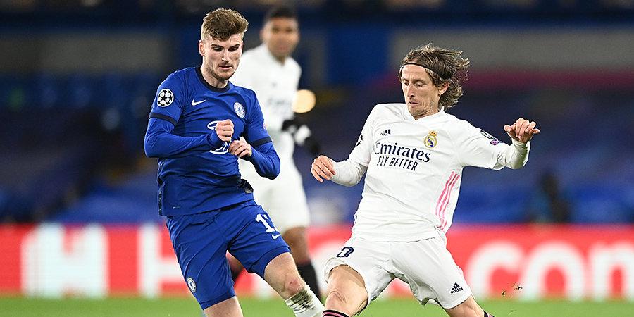 «Челси» обыграл «Реал» и стал вторым финалистом Лиги чемпионов