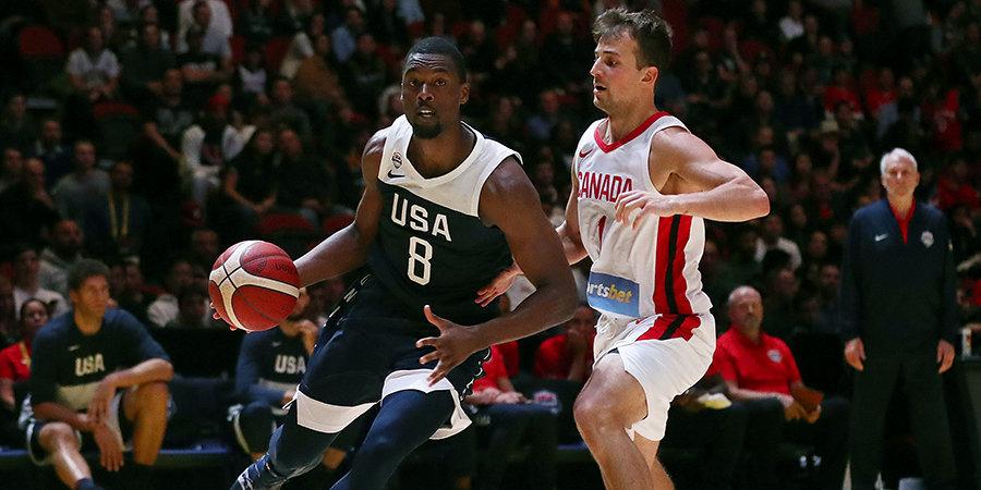 Сборная США одержала третью победу на чемпионате мира, Греция вышла в следующий раунд турнира