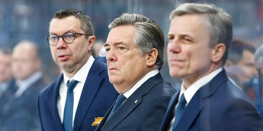 Тренерский штаб Воробьева в «Металлурге» покинуло три специалиста