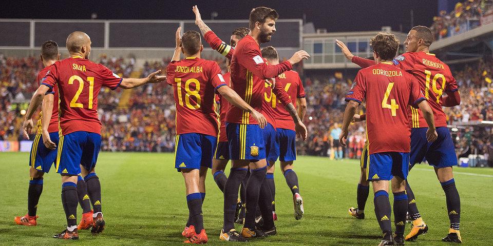 Сборная Испании вышла на ЧМ-2018, итальянцы не справились с Македонией