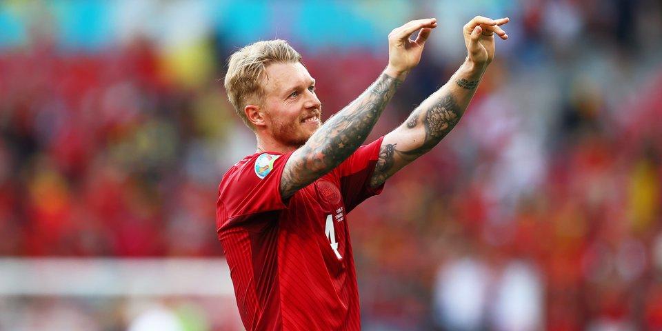 Симон Кьер — о спасении Эриксена на Евро: «Команда отреагировала на ситуацию как единое целое»
