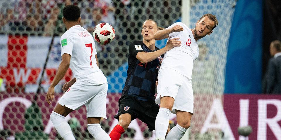 Хорватия оставляет Англию без финала. Голы и лучшие моменты