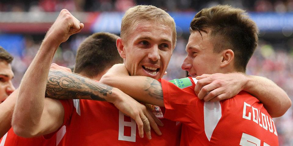 Родной клуб автора первого гола на ЧМ-2018 снимается с первенства России