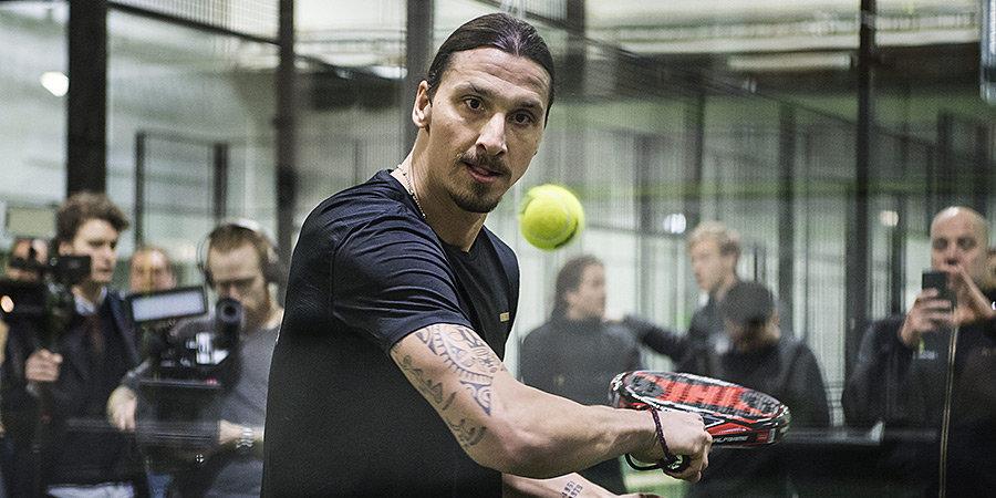 Футболисты обожают играть в падел. Тотти установил корт дома, Златан открывает падел-центры в Швеции
