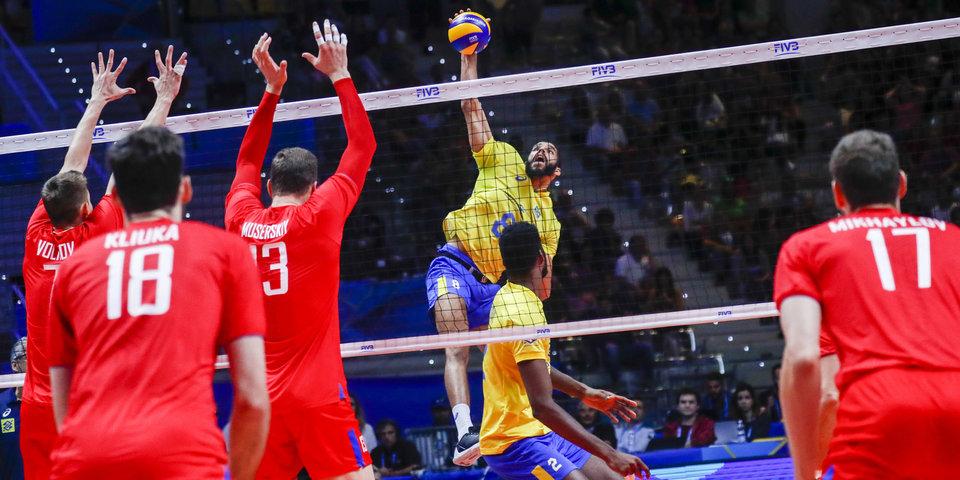 Сборная России на тай-брейке проиграла Бразилии на чемпионате мира