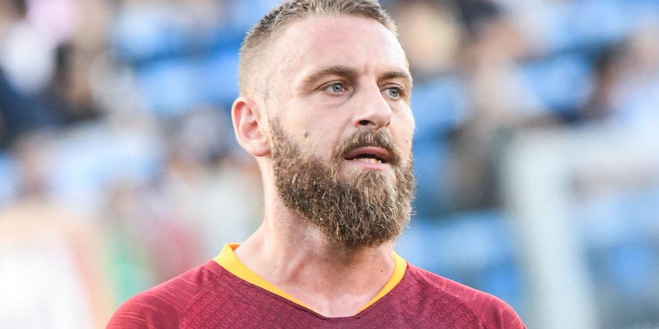Футболисты «Ромы» устроили овации в честь Де Росси