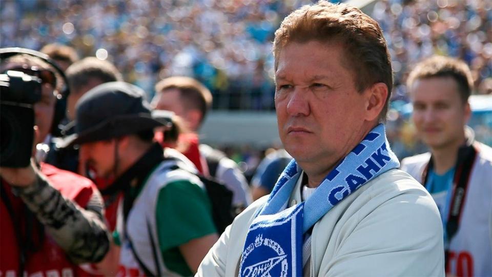 Алексей Миллер: «Это ужасная трагедия и невосполнимая потеря для всего российского футбола»