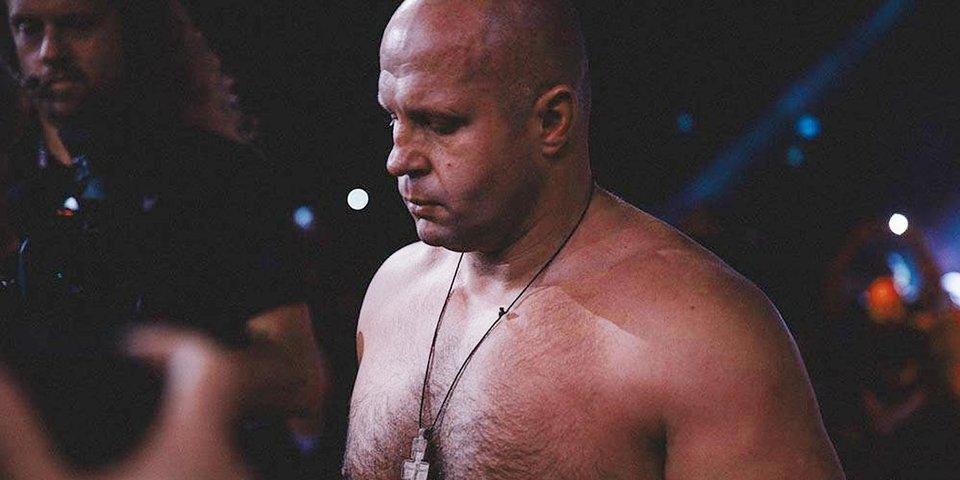 Федор Емельяненко проведет бой на турнире Bellator в России