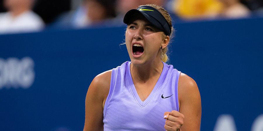 Потапова вышла в четвертьфинал турнира в Нур-Султане