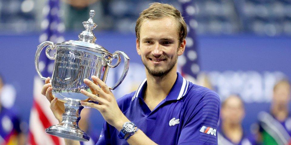 ПО-БЕ-ДА!!! Медведев в трех сетах обыграл Джоковича в финале US Open
